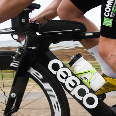 Be sure to avoid hypoglycemia during your long distance triathlon with the Z Aero.   #zefal #keeponriding #cycling #triathlon #ironman #ironmantraining #framebags #cycliseme #bikeaccessories